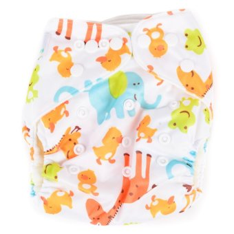 Harga Happy Nappy Animals Cloth Diaper with Insert