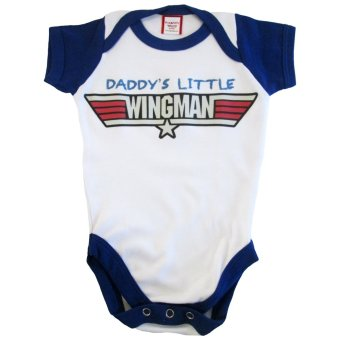 Bug and Kelly Daddy's Little Wingman Onesie Price Philippines