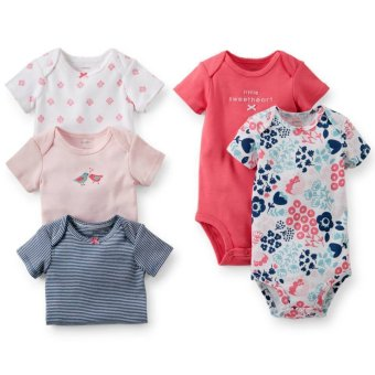 Carter's 5-Pack Bodysuits - Little Sweetheart Price Philippines