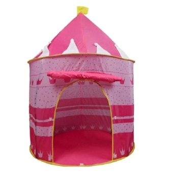 Harga MEI-MEI Portable Folding Kids Play Tent Cubby House (Pink)