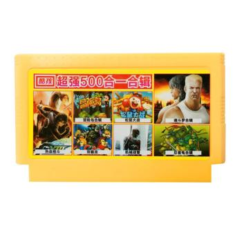 Harga 8 bit game cartridge classical game card 500in1 no repetition games for FC video game console