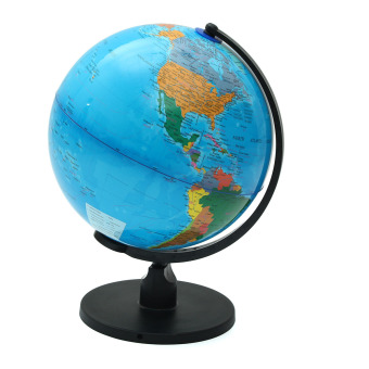 25cm Rotating World Earth Globe Atlas Map Geography Education Toy Desktop Decor - intl Price Philippines