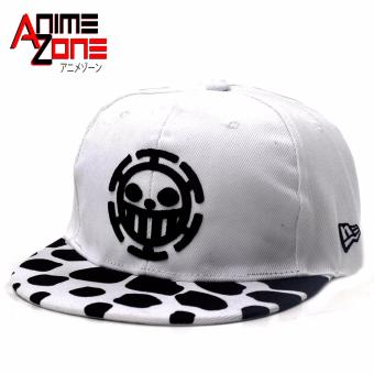 ANIME ZONE Heart Pirate Trafalgar Law One Piece Anime Unisex Fashionable Snapback Cosplay Cap Price Philippines