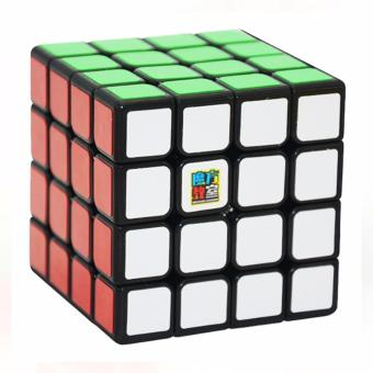 Harga MoFang JiaoShi MF4S 4x4x4 Rubik's Cube Brain Teasers Speed Magic Cube Puzzles MF8805 Black Body
