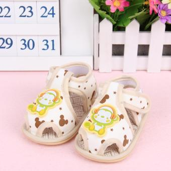 Harga Fisher-price Little monkey pattern shoes yellow
