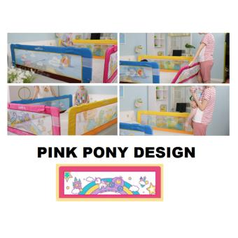 Fortress Baby Safety Mambo Bed Rail Pink Pony (1.5m EMBEDDED) Price Philippines