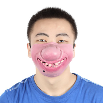 EOZY Halloween Funny Mask Pig Nose Half-Face Masks Costume Props Party Supplies Price Philippines