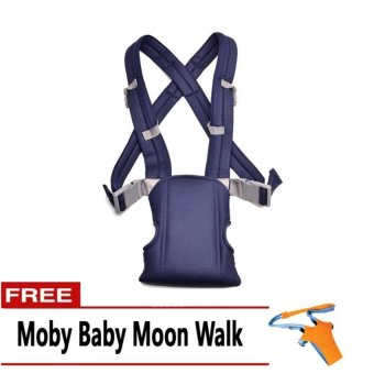 Baby Carrier (Blue) with FREE Moby Baby Moon Walk Price Philippines