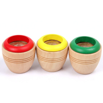 360WISH Wooden Magic Kaleidoscope Kids Children Educational Toy - Color Random Price Philippines