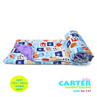 New 2017 Best Store Baby Shop Soft Comfortable Carter Hooded Blanket-UA135 Price Philippines