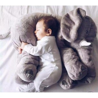 Ins elephant doll plush toy Pillow to accompany the baby to sleep toys - intl Price Philippines