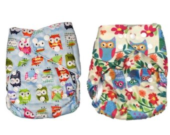Milkshake Babies Cloth Diapers for Girls Owl Design Pack of 2 Price Philippines