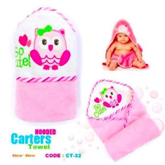 Best Store Baby Shop Carter Hooded Towel (Pink) Price Philippines