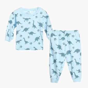 Nap Boys Dinosaur Pajama Set (Blue) Price Philippines