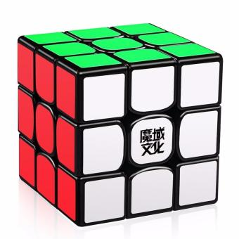 Harga MoYu WeiLong GTS2 Magnetic 3x3x3 Rubik's Magic Cube Puzzle Black