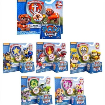 Paw Patrol Action Pack Pup Deformation Dog Backpack Figures Toy + Shield Toys Price Philippines