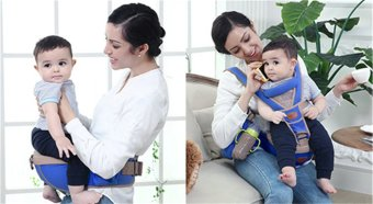 Mambobaby Y–shaped Fashion Baby Carrier with Hip Seat breathable baby backpack harness(Navy)   Price Philippines
