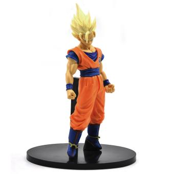 Harga Super Saiyan 2 Son Goku - Banpresto SCultures Figure Colosseum