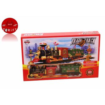 Harga SHOP AND THRIFT 13689 1 Set of Train Track Educational Toy For Children Kids