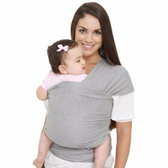 Eco Cub Moby Baby Wrap Carrier for Comfortable Baby Wearing (Gray) Price Philippines