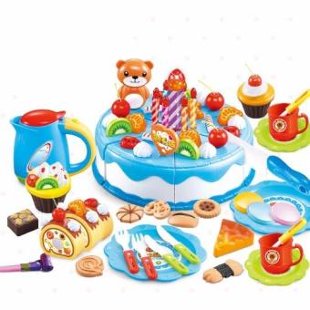 DIY Cutting Fruit Birthday Cake Food Play Toy Set for Kids Children Babies Price Philippines