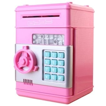 Harga Creative Mini Password ATM Piggy Bank (Pink)