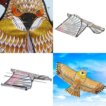 Harga Golden eagle kite with handle line kite games bird kite weifang chinese kite - intl