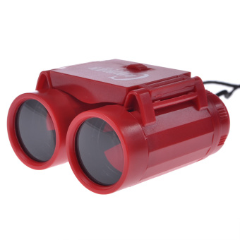 Children Kid Binoculars Telescope Toy Gifts for Kids 2.5x Red - Intl Price Philippines