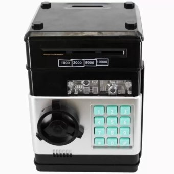 Harga Creative Mini Password ATM Piggy Bank (Black)