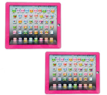Harga Y-PAD English Computer Multimedia Learning Toy Computer (Pink) set of 2