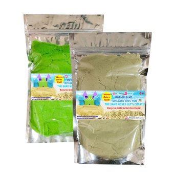 Motion Sand Natural and Green Color Sand Price Philippines