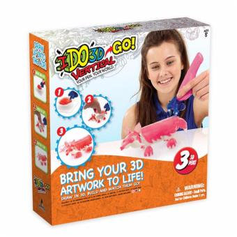 Harga I Do 3D Vertical Go With 3(3D Pens)