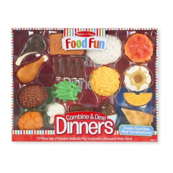 Harga Melissa and Doug Food Fun Combine and Dine Dinners (Red)