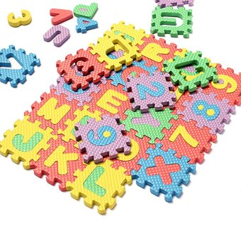 Amango Alphabet & Number Puzzle Mat 72pcs Price Philippines