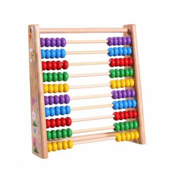 Wooden Toy Vertical Ten Grade of Computation Frame Price Philippines