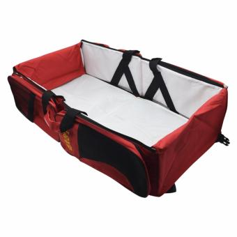 Harga Mei Mei Portable Travel and Changing Bed with Side Pocket