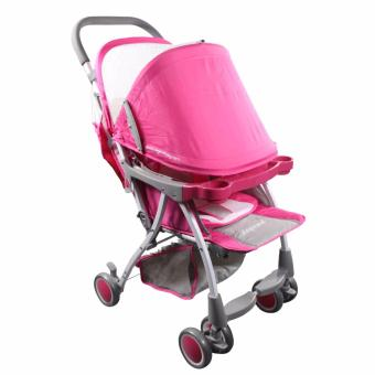 Legendary Babe T400 Simple Lightweight Baby Stroller (Pink) Price Philippines