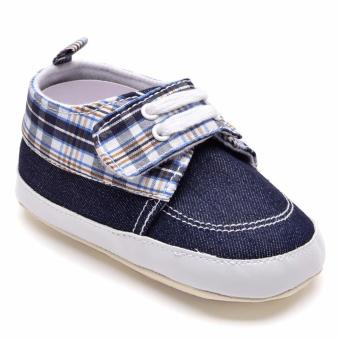 Wonder Years SHO-RB-1114-NB Infant Boy Shoes (Navy Blue) Price Philippines