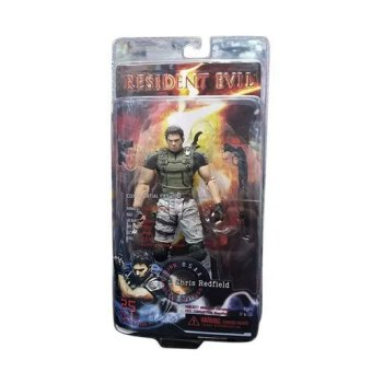 Harga Neca Resident Evil Chris Redfield Model Toy
