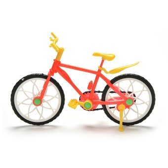 Creative Red Yellow Mountain Bike for Barbies Dolls - intl Price Philippines