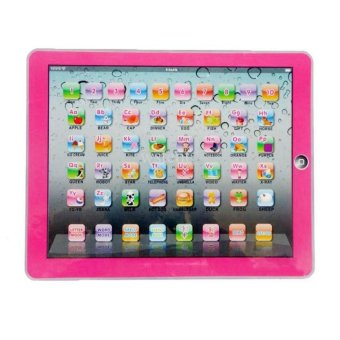 Harga Y-PAD English Computer Multimedia Learning Toy Computer (Pink)