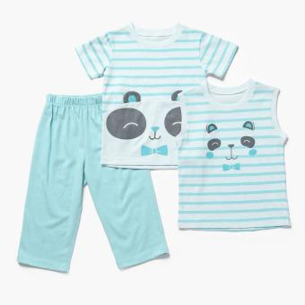 Nap Boys Panda Pajama Set (Green) Price Philippines