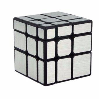 Harga MoFang JiaoShi MF8811 3x3x3 Speed Mirror S Cubing Classroom Puzzle Magic Cube Silver