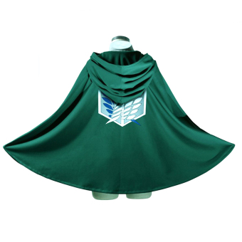 Anime Attack on Titan Shingeki No Kyojin Cloak Cape Cosplay Clothes Price Philippines