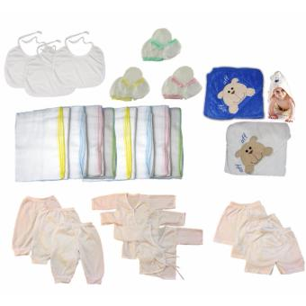 31 PCS/Set Newborn Baby Cotton Clothing Set Gift Set Baby Boy Clothes Price Philippines
