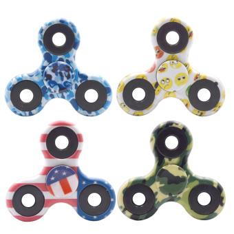 Harga Fidget Spinner with Colorful Design