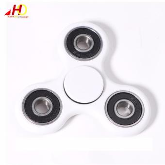 Tri Spinner Fidgets Toy Plastic EDC Sensory Fidget Spinner For Autism and ADHD Kids/Adult Funny Anti Stress Toys (White) Price Philippines