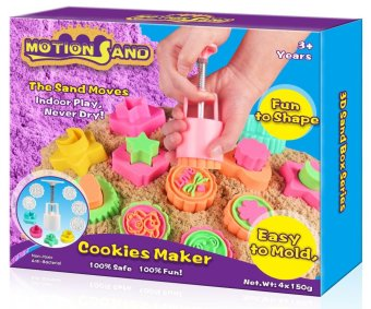 Motion Sand 3D Sand Box (Cookie Maker) Price Philippines