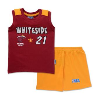 NBA Baby - Muscle Shirt and Shorts Set (Whiteside 21) Price Philippines