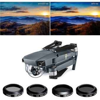 Harga 4x Lens Filters MRC ND4 ND8 ND16 ND32 for DJI MAVIC PRO Accessories Durable New - intl